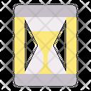 Hourglass New Year Celebration Icon