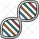 Hourglass Chemical Composition Dna Icon