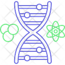 Hourglass Dna Genes Chemical Composition Icon