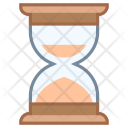 Historical Hourglass Sand Clock Icon