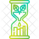 Hourglass Ecology Time And Date Icon