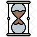 Hourglass Law Justice Icon