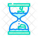 Hourglass Toy Color Icon
