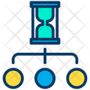 Time Management Hourglass Working Time Icon