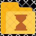 Hourglass folder Icon