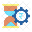 Hourglass Rupee Icon