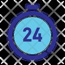 Hour Time Arrow Icon