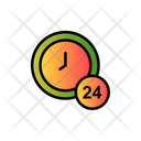 Hours Clock Time Icon