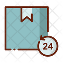 Hours Hour Delivery Delivery Box Icon