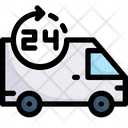 Hours delivery Icon