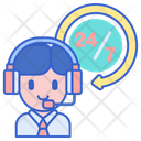 Hours Service Hours Support Support Icon