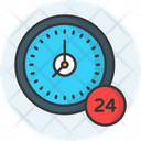Hours Support Icon