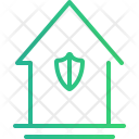 House Protected Home Icon
