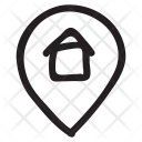 House Location Pin Icon