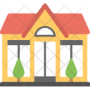 House Front Exterior Icon