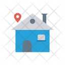 House Location Map Icon