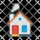 House Home Smoke Icon