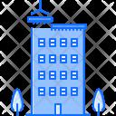 House Tree Crane Icon