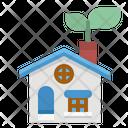 House Ecology Environment Icon