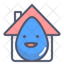 House Drop Water Drop Drop Icon