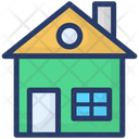 House Cottage Residential Building Icon