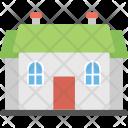 Bungalow Duplex English Icon
