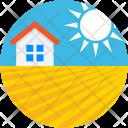 Home Sun House Icon