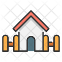 House And Fence House Home Icon