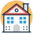 Family House Mansion Icon