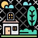 House Home Tree Icon