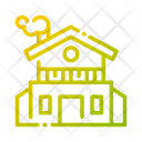 House Building Construction Icon