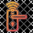 House Smart Door Lock Door Lock Icon