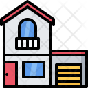 Garage Building Architecture Icon