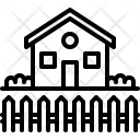 Home Fence Architecture Icon