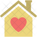 House Sign Lovers Icon