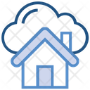 Cloud Storage House Icon
