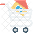 House In Cart Icon