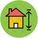 House Measurement Home Icon
