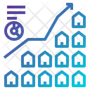 Business House Stats Icon