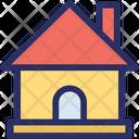 Building Cottage Estate Icon
