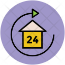 House Rotating Sign Icon