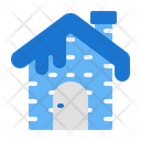 House Winter Snow Icon