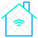 Smart House Automation Internet Of Things Icon
