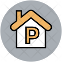 House For Parking Icon