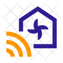 House Fan Cooling Icon