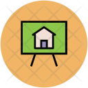 House Board Presentation Icon