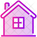 Spring House Hut Icon