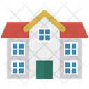 House Building Residential Icon