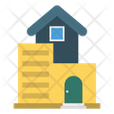 Home Building Apartment Icon