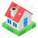 Shack Home Villa Icon